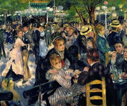 Dancing at the Moulin de la Galette